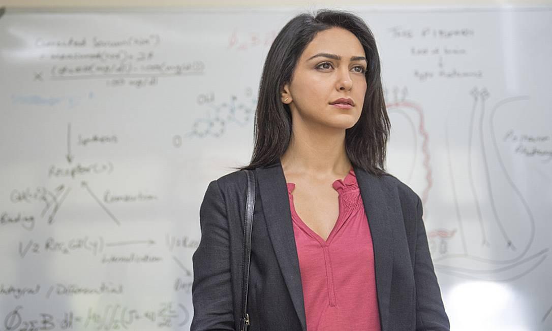 Nazanin Boniadi: Anglo-iraniana, a atriz de 39 anos faz parte do elenco da série 'Homeland' desde a terceira temporada, como a agente da CIA Fara Sherazi. A atriz pode ser vista também no filme 'O escândalo', em cartaz nos cinemas Foto: Divulgação