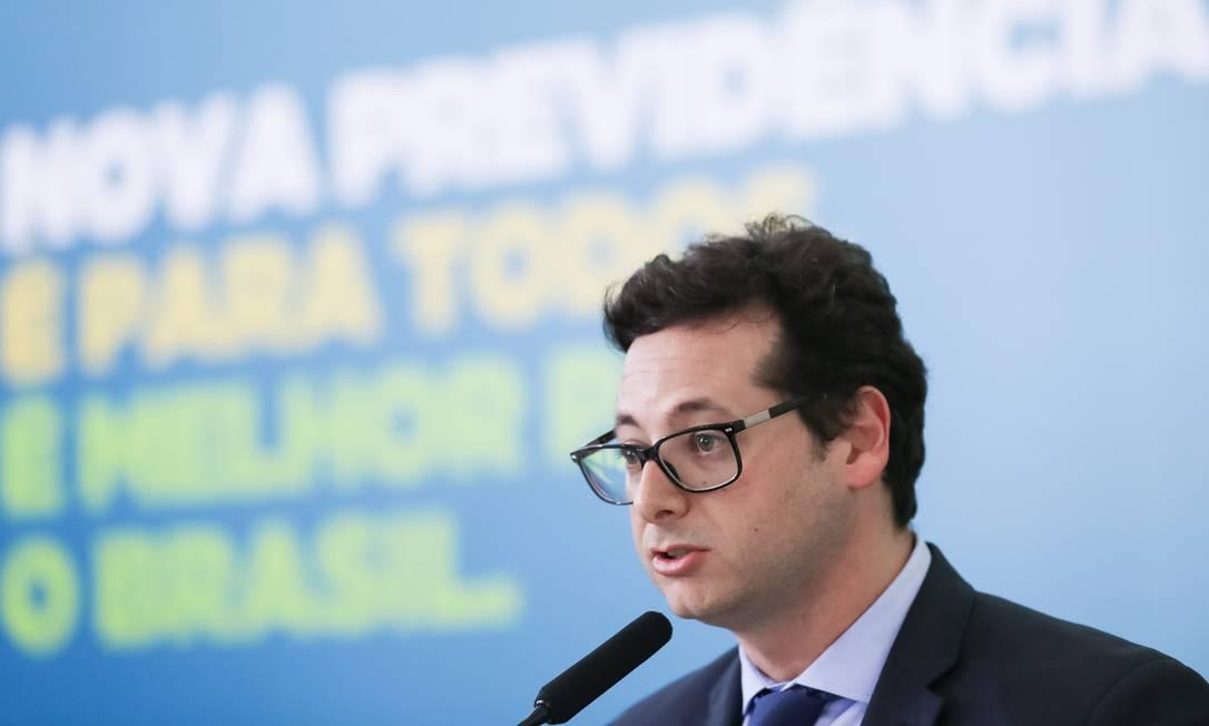 Segundo Bolsonaro, Wajngarten é um 'excelente profissional' Foto: Marcos Corrêa / PR
