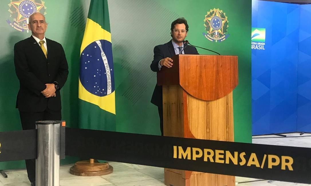 Fábio Wajngarten voltou a dizer que saiu do quadro da gestão da empresa na época de sua nomeação para o cargo no governo Foto: Jussara Soares/O Globo