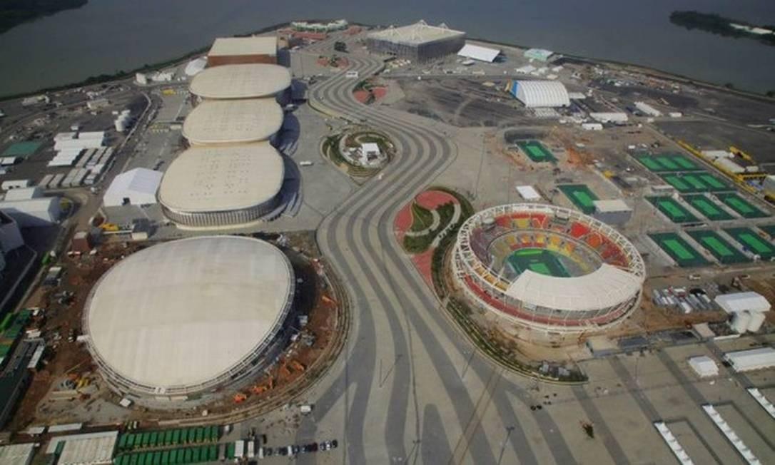 Justiça Federal determina interdição dos Parques Olímpicos do Rio Foto: Agência O Globo