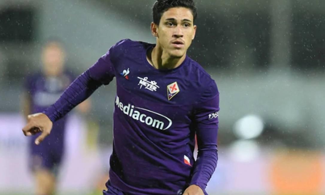 Pretendido pelo Flamengo, Pedro disputou apenas quatro jogos pela Fiorentina Foto: Reprodução