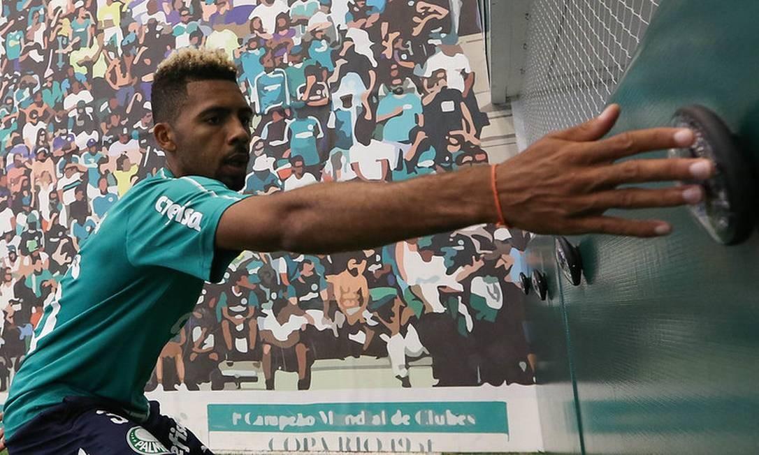 Matheus Fernandes, do Palmeiras, está a caminho do Barcelona Foto: Cesar Greco / Cesar Greco / Palmeiras