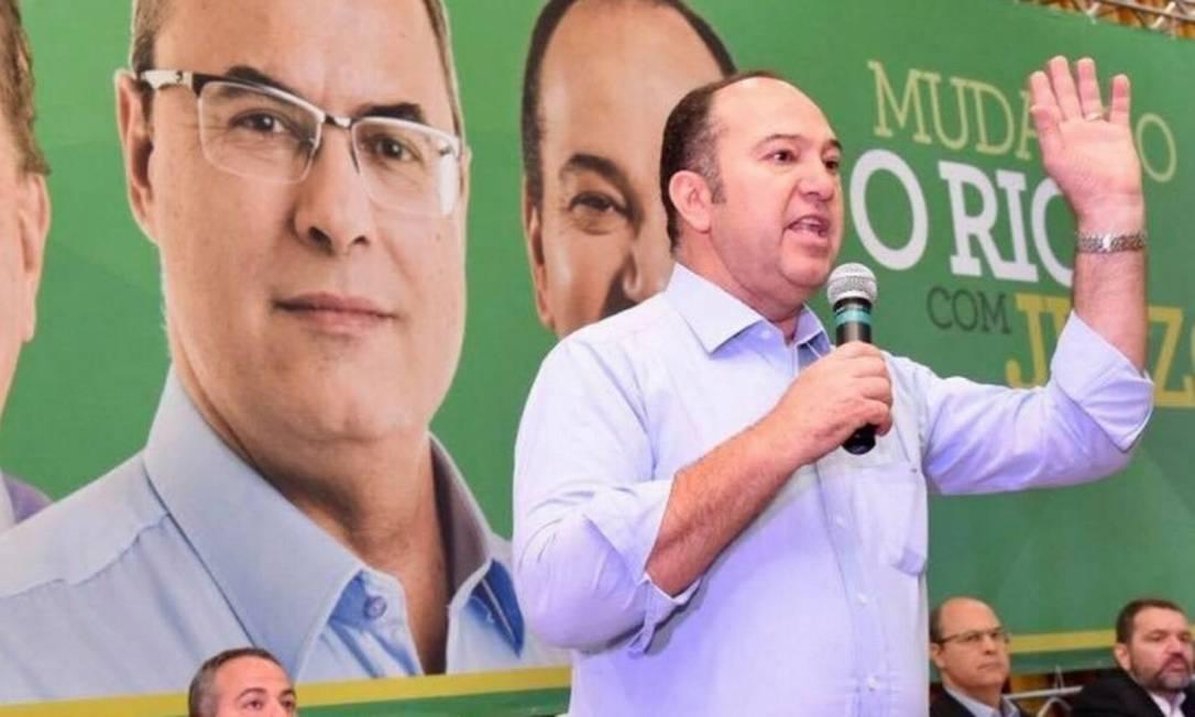 Everaldo Dias, o Pastor Everaldo, durante a campanha eleitoral ao governo do estado Foto: Reprodução/ Facebook