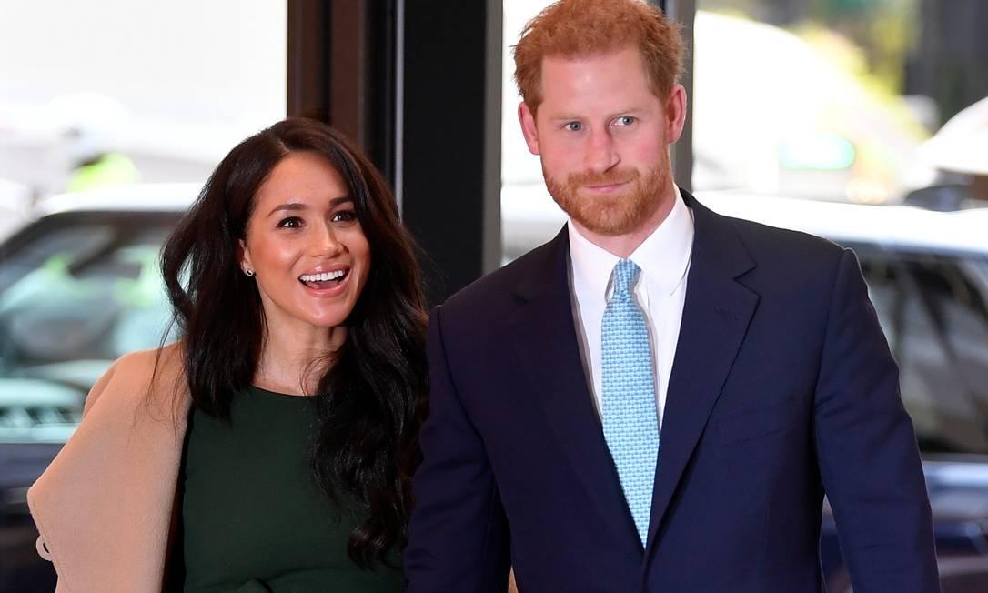 Meghan Markle e príncipe Harry Foto: WPA Pool / Getty Images