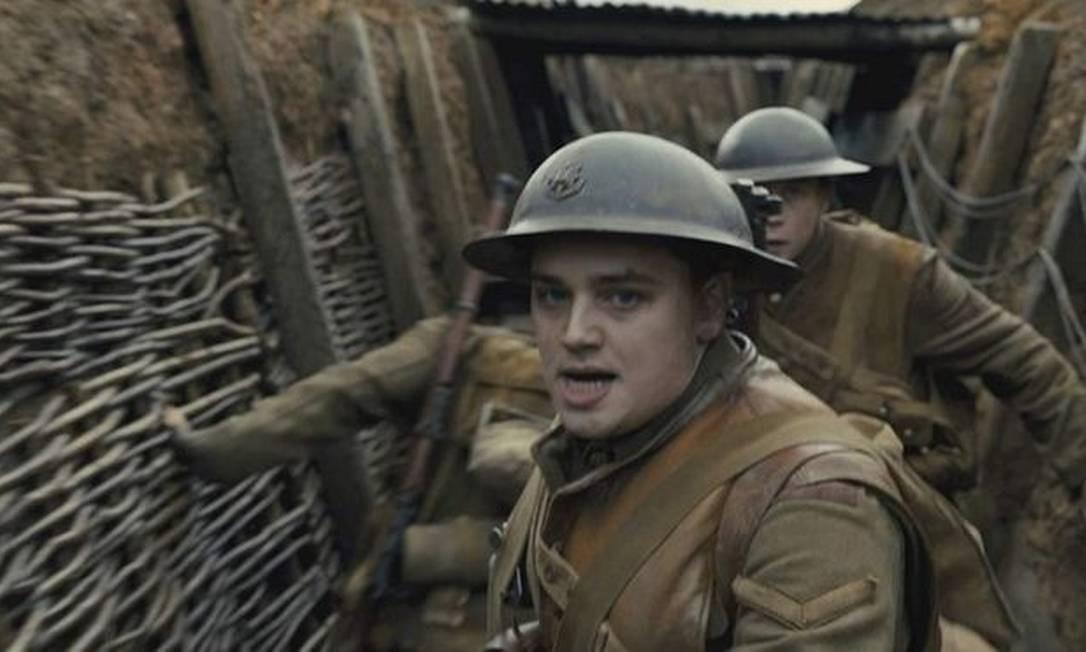 Vencedor do Globo de Ouro, '1917' concorre a dez Oscar Foto: Universal Pictures