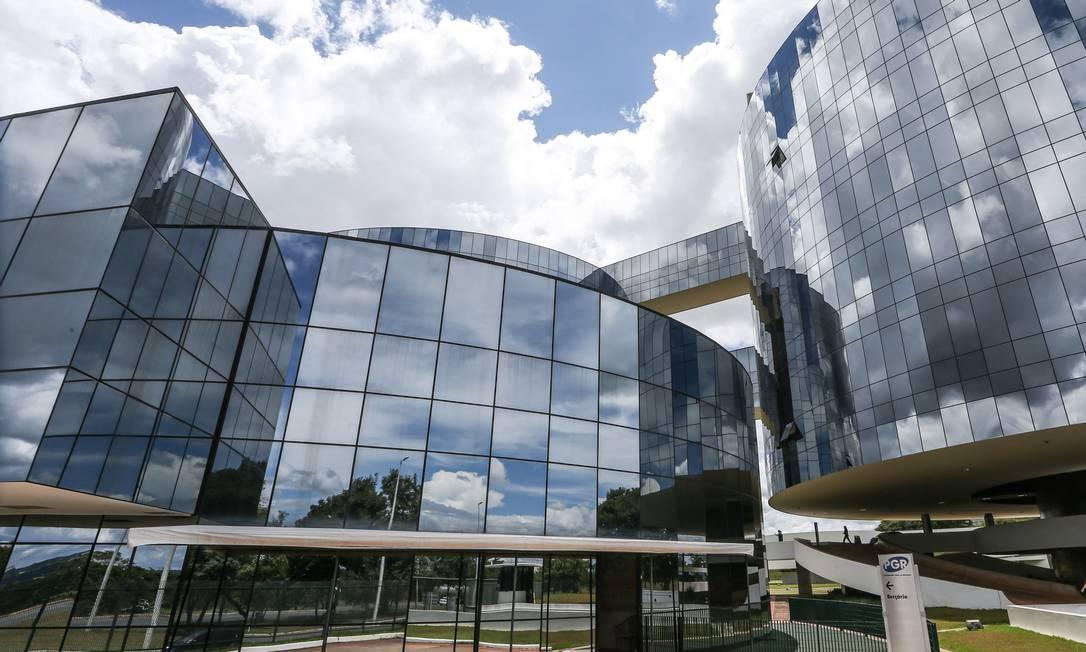 Sede do Ministério Público Federal Foto: André Coelho / Agência O Globo