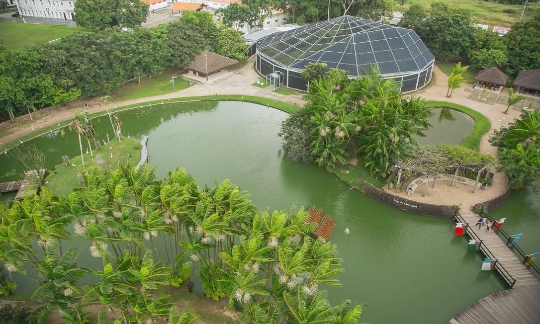 Parque Mangal das Garças, em Belém do Pará Foto: Bruna Brandão / Ministério do Turismo / Divulgação