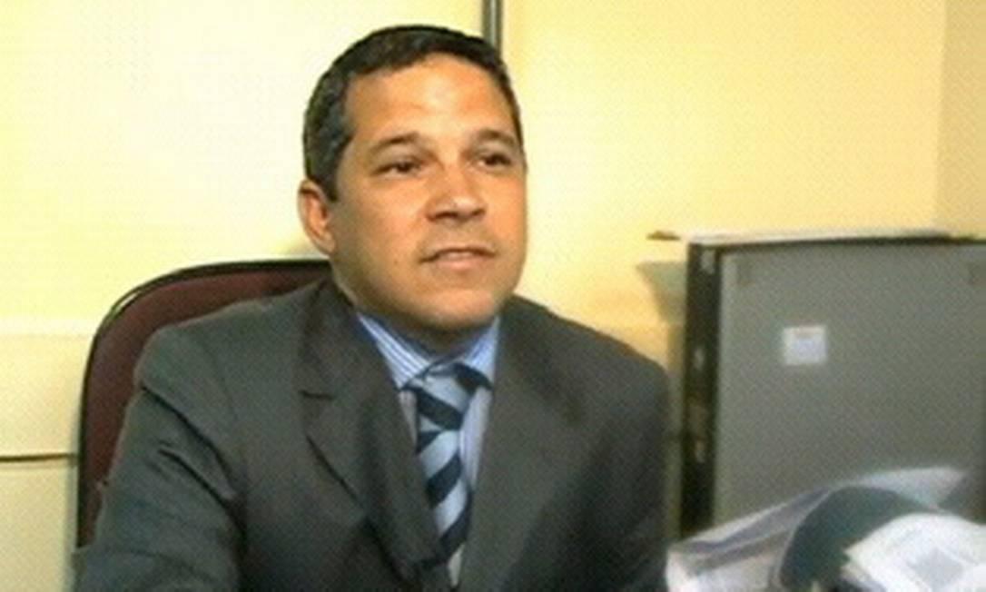 O ex-subsecretário de Saúde do Rio, César Romero Foto: Reprodução de TV