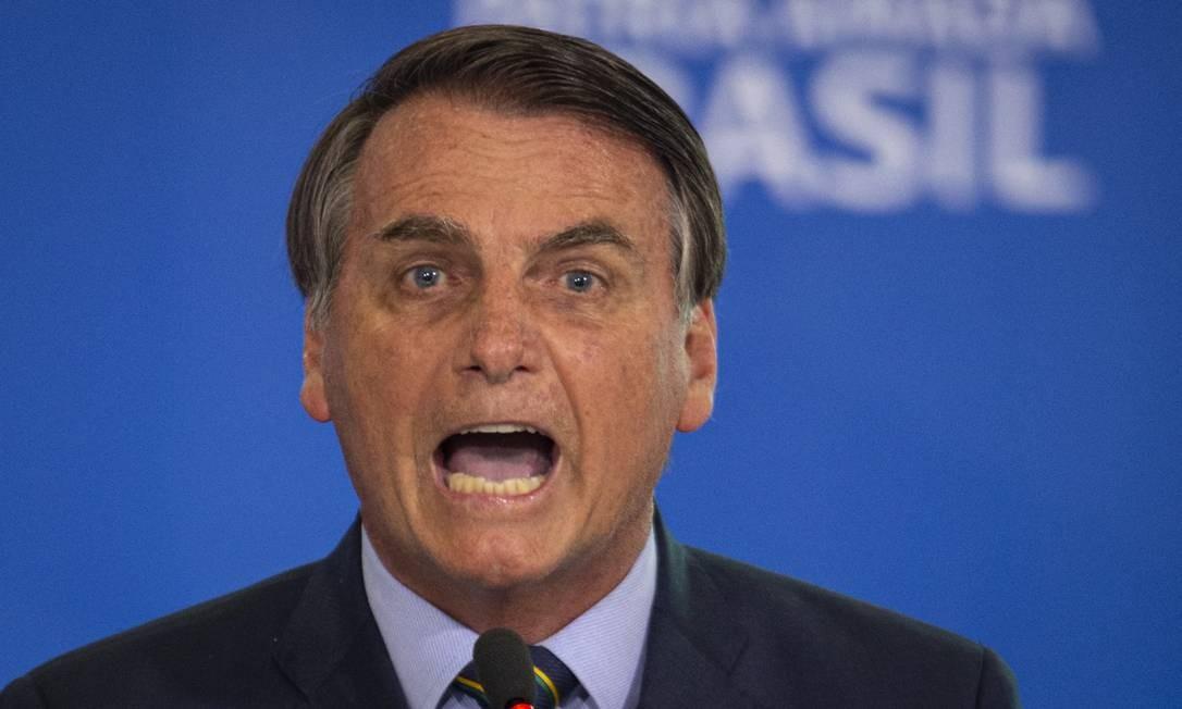 Bolsonaro reclama da imprensa e se irrita com pergunta sobre ...