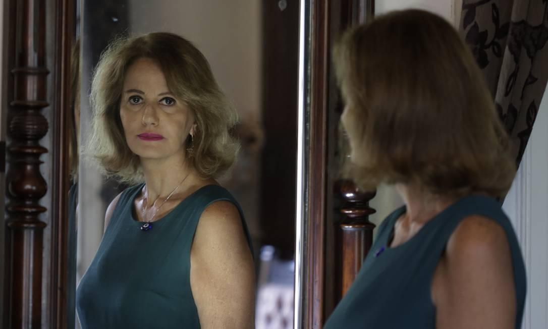 Presidente da Fundação Casa de Rui Barbosa, Letícia Dornelles: 'Faz três meses que peço o planejamento. Mas o setor de pesquisa não me informa nada' Foto: ANTONIO SCORZA / Agência O Globo