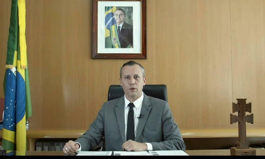 Discurso e trilha sonora de vídeo do secretário de cultura do governo Bolsonaro ecoaram referências do nazismo Foto: Reprodução