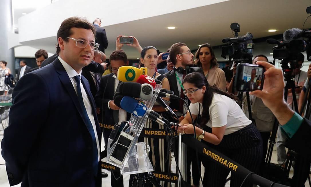 O secretário de Comunicação Social da Secretaria de Governo, Fabio Wajngarten 18/12/2019 Foto: Divulgação