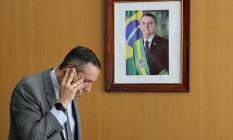 Roberto Alvim, secretário da Cultura demitido após usar referências nazistas Foto: Jorge William / Agência O Globo