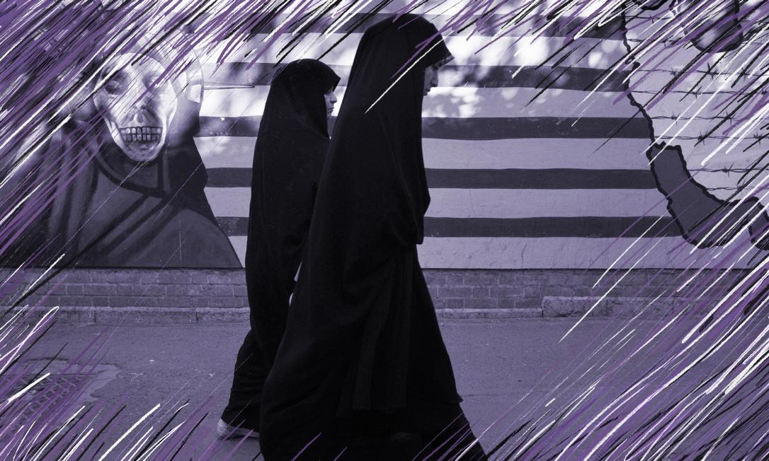 Arquiteta iraniana-australiana Samaneh Moafi explora como as mulheres iranianas conseguiram uma vida própria dentro das estruturas patriarcais ao seu redor Foto: Reuters