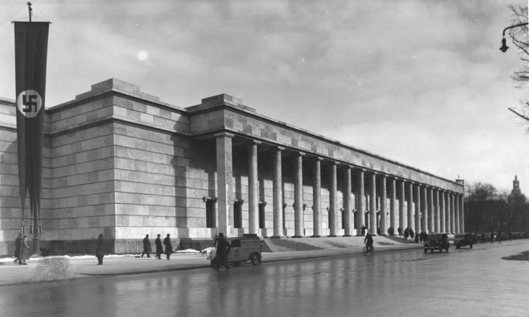 Casa da Arte, em Munique, onde aconteceu em 1937 a Grande Exposição de Arte Alemã Foto: Bundesarchiv