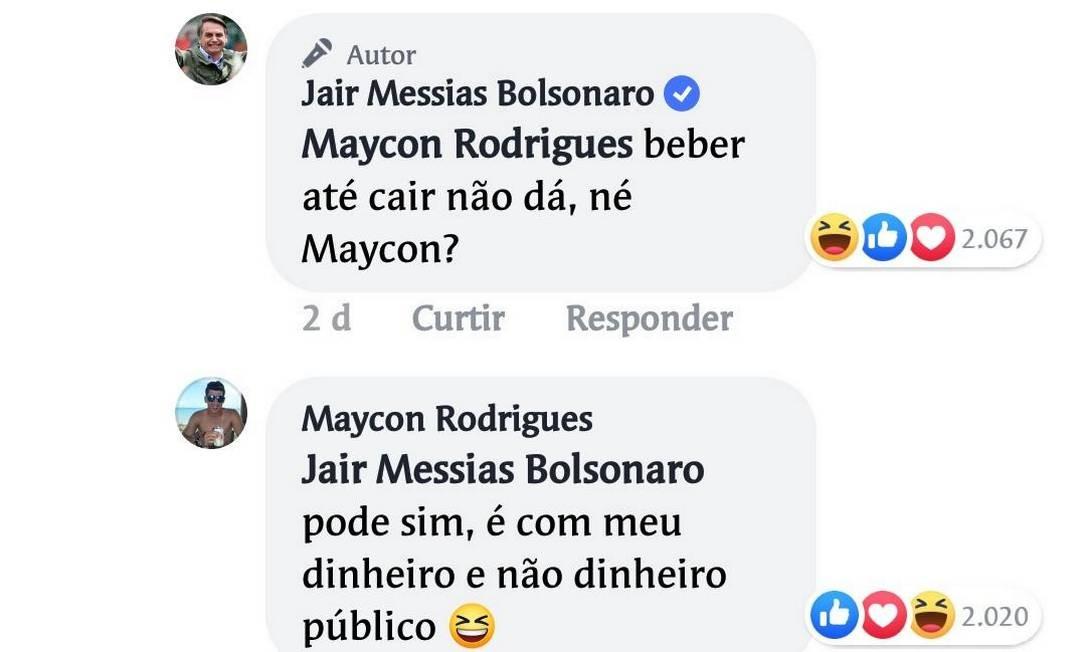 Bolsonaro deu resposta malcriada após ser questionado sobre intenção de dar subsídio a igrejas Foto: Reprodução