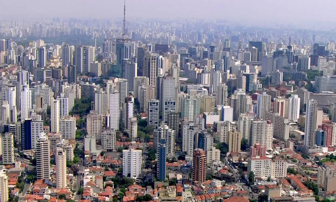 São Paulo registrou aumento no preço do aluguel em 2019 Foto: Reprodução / TV Globo