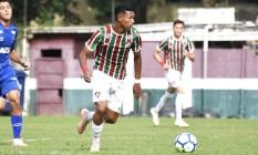 Wallace, meia do sub-20 do Fluminense, está na mira do São Paulo e do Liverpool Foto: Mailson Santana/Fluminense