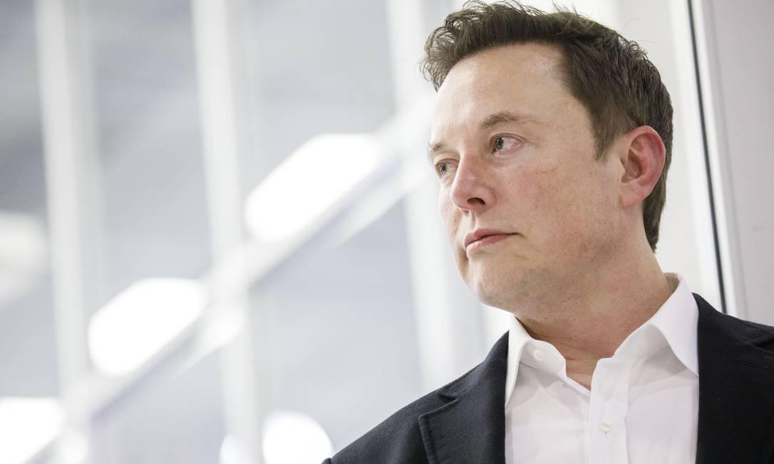 O CEO da SpaceX e da Tesla, Elon Musk é popular no Twitter, com mais de 30 milhões de seguidores Foto: Patrick T. Fallon / Bloomberg