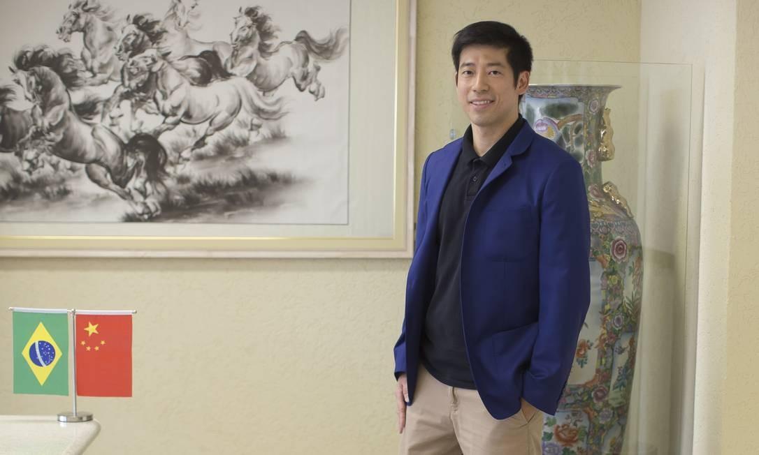 O advogado Thomas Law preside o Instituto Cultural Brasil-China (Ibrachina) acredita que a Chinatown será um legado para a cidade de São Paulo Foto: Edilson Dantas / Agência O Globo