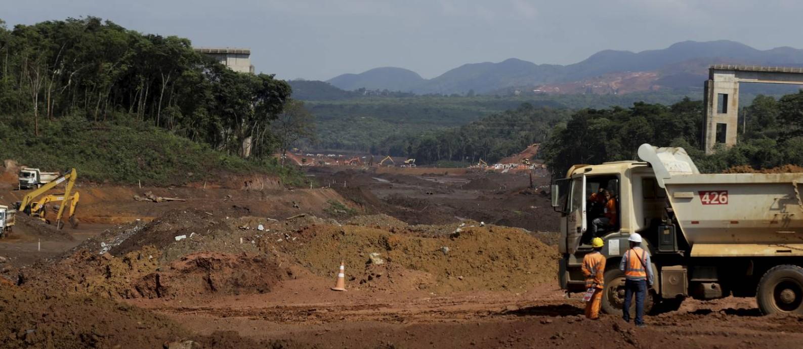 Brumadinho vive boom de investimentos, mas ainda não tem plano de longo prazo Foto: Marcelo Theobald / Agência O Globo