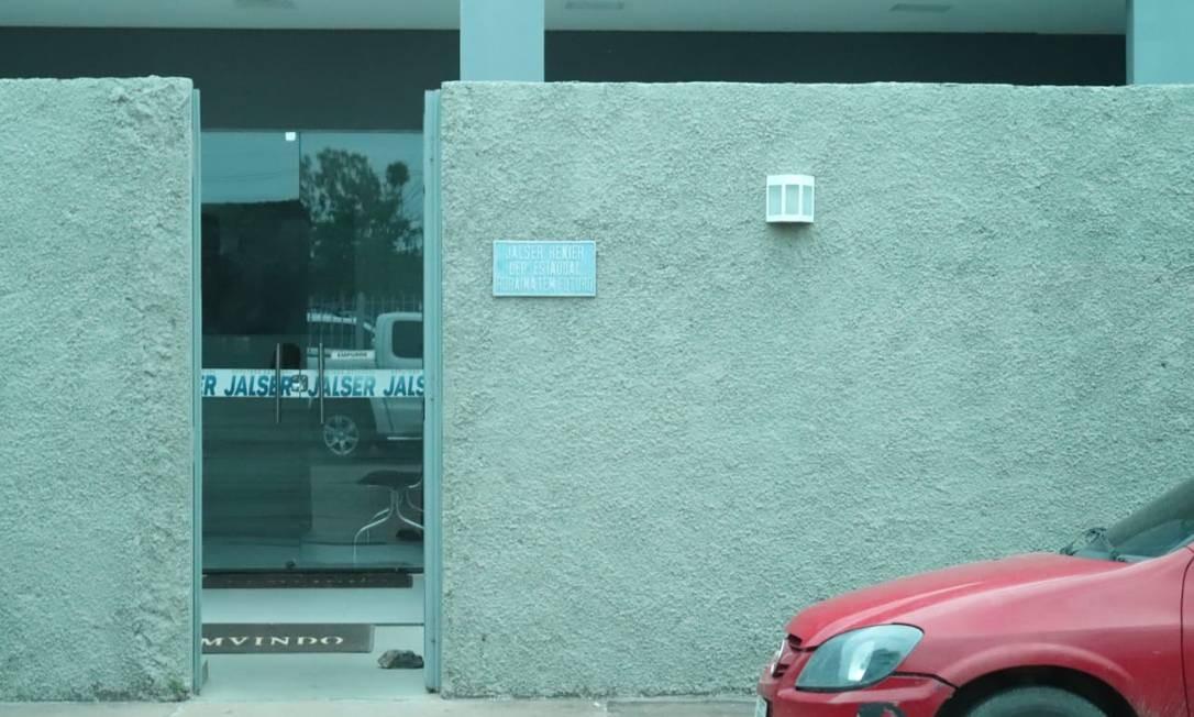 Escritório do deputado estadual Jalser Renier (SD), em imóvel no nome de sua mulher, tem aluguel pago por deputado federal de Roraima Foto: Arquivo pessoal