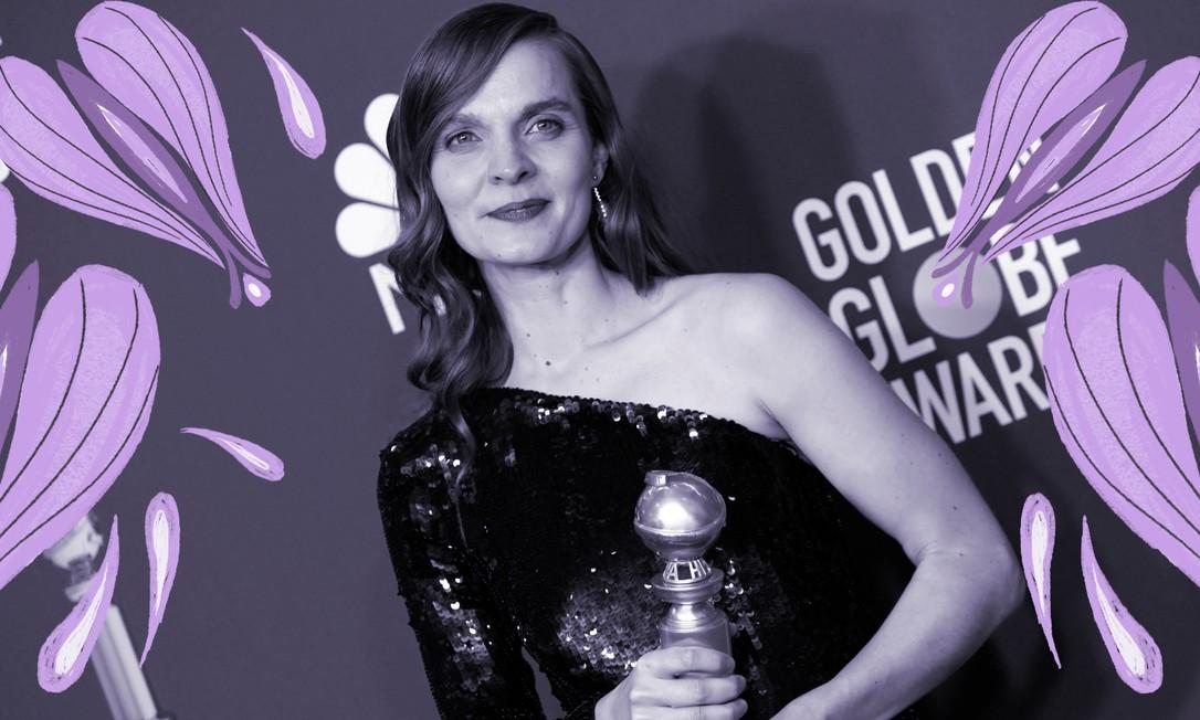 A islandesa Hildur Guonadottir, compositora da trilha sonora de 'Coringa' é a primeira mulher a ganhar o Globo de Ouro de Melhor Trilha Sonora e a quinta indicada ao Oscar na mesma categoria Foto: Reuters