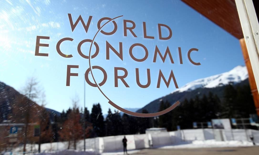 O Fórum Econômico Mundial começa nesta segunda-feira em Davos Foto: DENIS BALIBOUSE/REUTERS