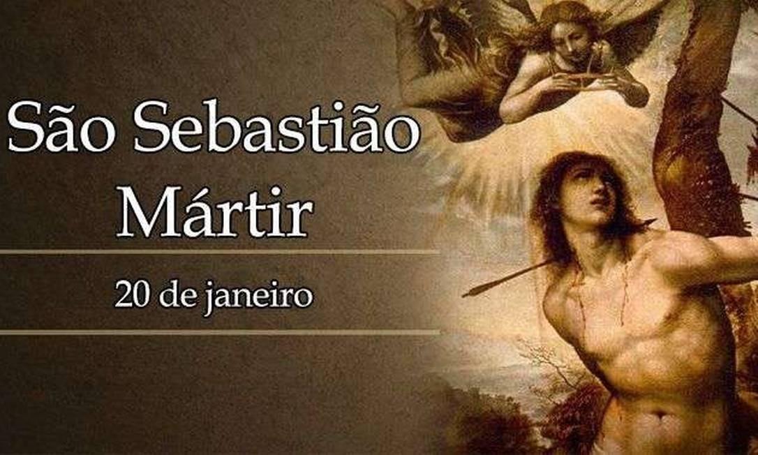 Imagem de São Sebastião Foto: Reprodução