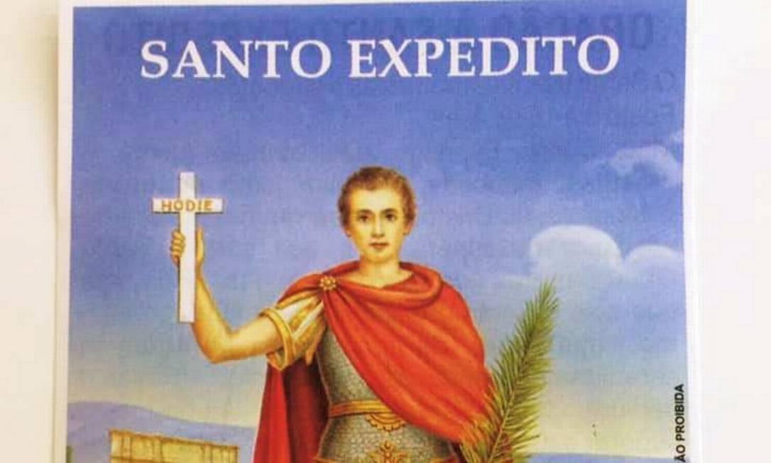 Imagem de Santo Expedito Foto: Reprodução