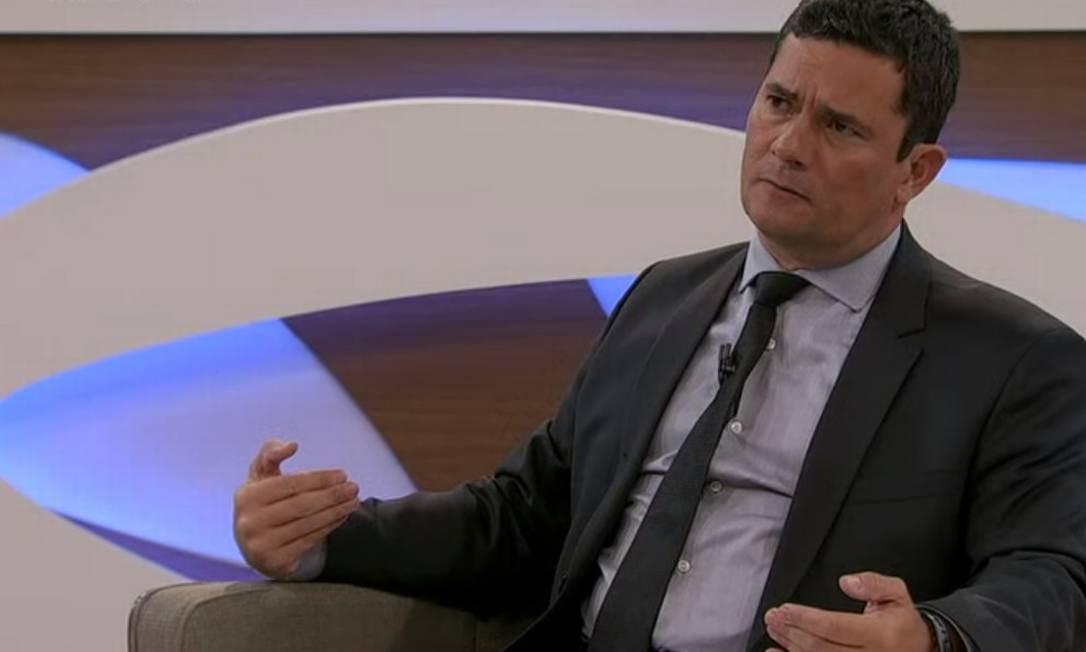 Sergio Moro participa do 'Roda Viva', da TV Cultura Foto: Reprodução
