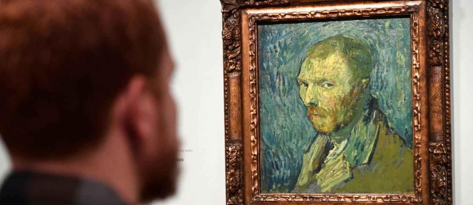 A pintura de Vangh Gogh foi feita durante surto psicótico Foto: PIROSCHKA VAN DE WOUW / REUTERS