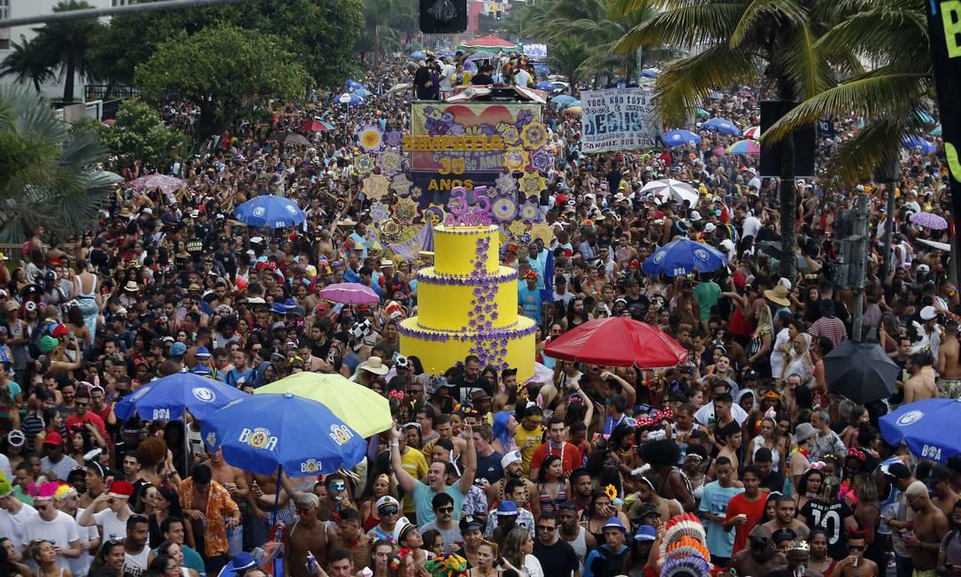 Desfile do Simpatia é Quase Amor em 2019 Foto: Arquivo / 03/03/2019 / Marcos de Paula