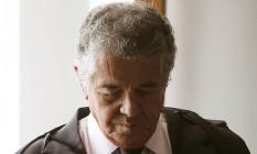 Marco Aurélio afirmou que inibir o direito de informar é ruim para a sociedade Foto: Jorge William / Agência O Globo