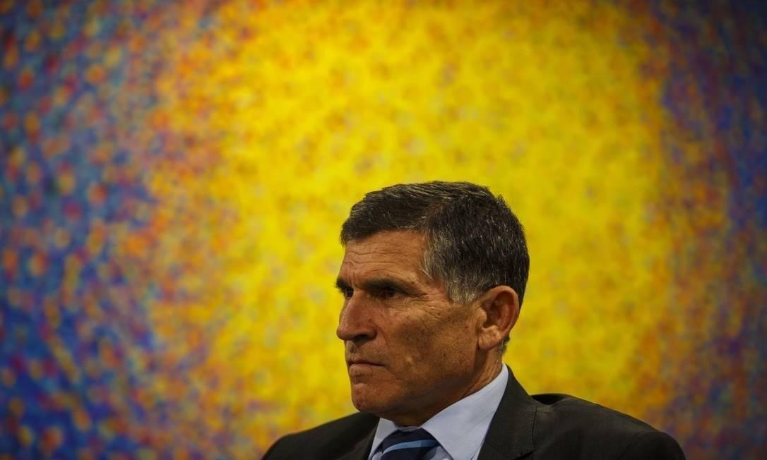 Carlos Alberto dos Santos Cruz Foto: Daniel Marenco/Agência O Globo