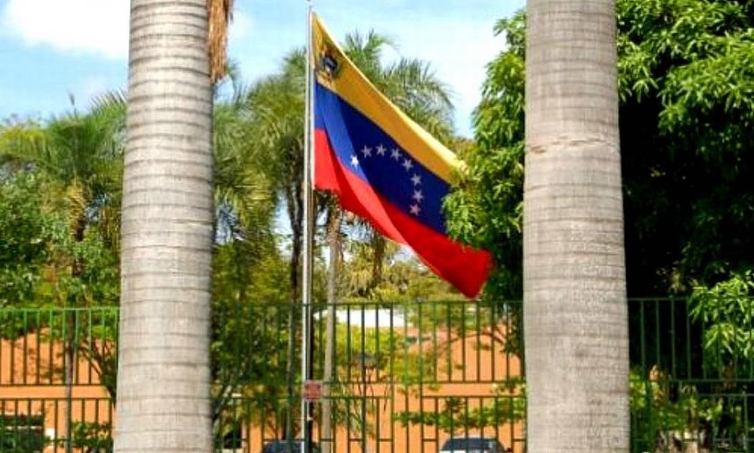 Embaixada da Venezuela no Brasil Foto: Reprodução