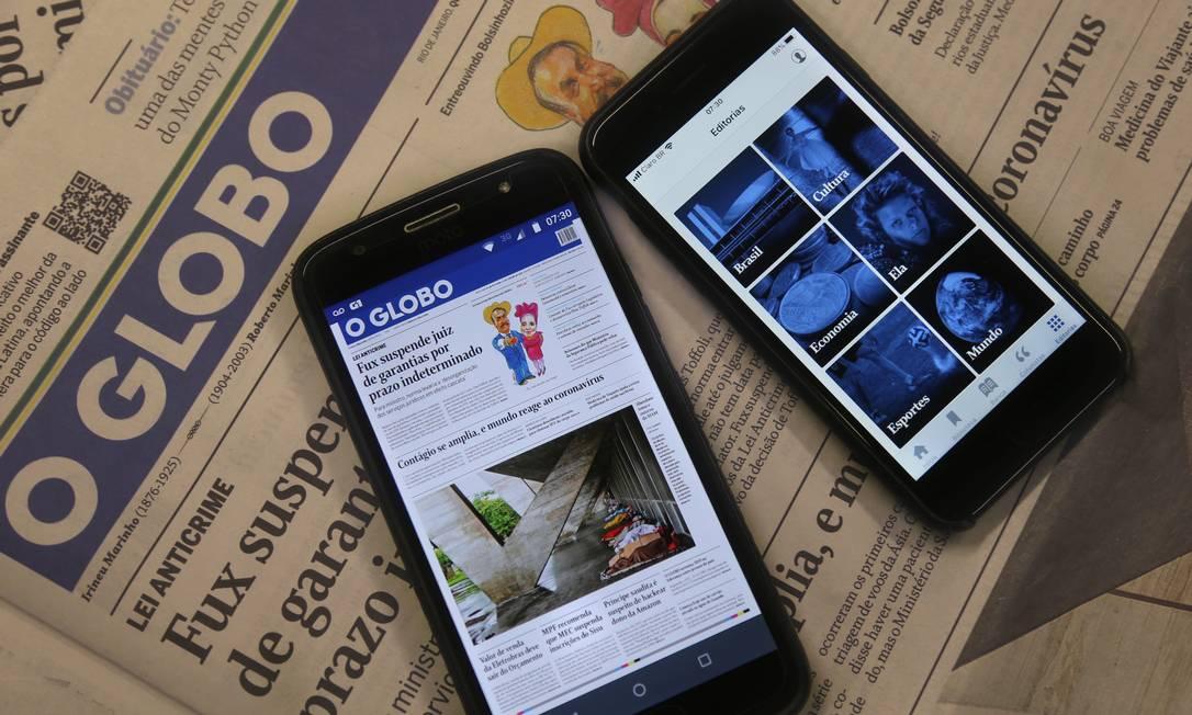 App do GLOBO Foto: Fabiano Rocha
