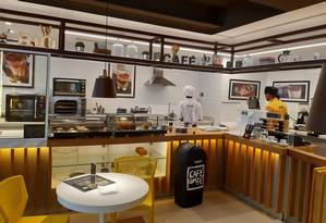 Café com Fé, cafeteria da sorveteria Momo Foto: Divulgação