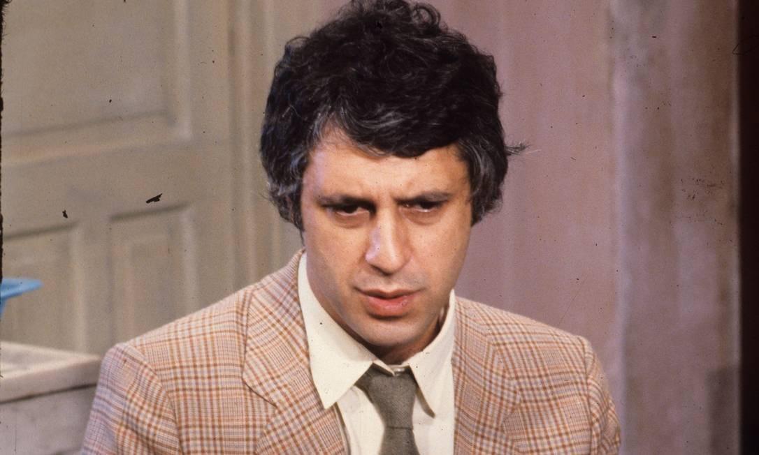 Antonio Fagundes em 1983 Foto: Cezar Loureiro / Agência O Globo