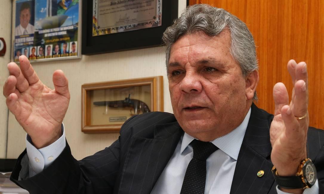 Deputado federal Alberto Fraga (DEM-DF) Foto: Givaldo Barbosa / Agência O Globo