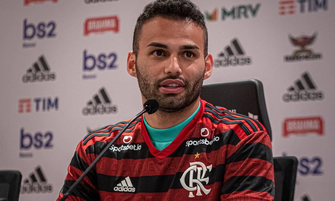 Thiago Maia vê Flamengo no nível de europeus