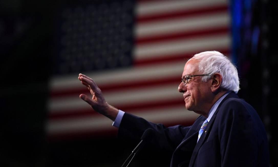 O senador democrata Bernie Sanders Foto: Gretchen Ertl / Reuters