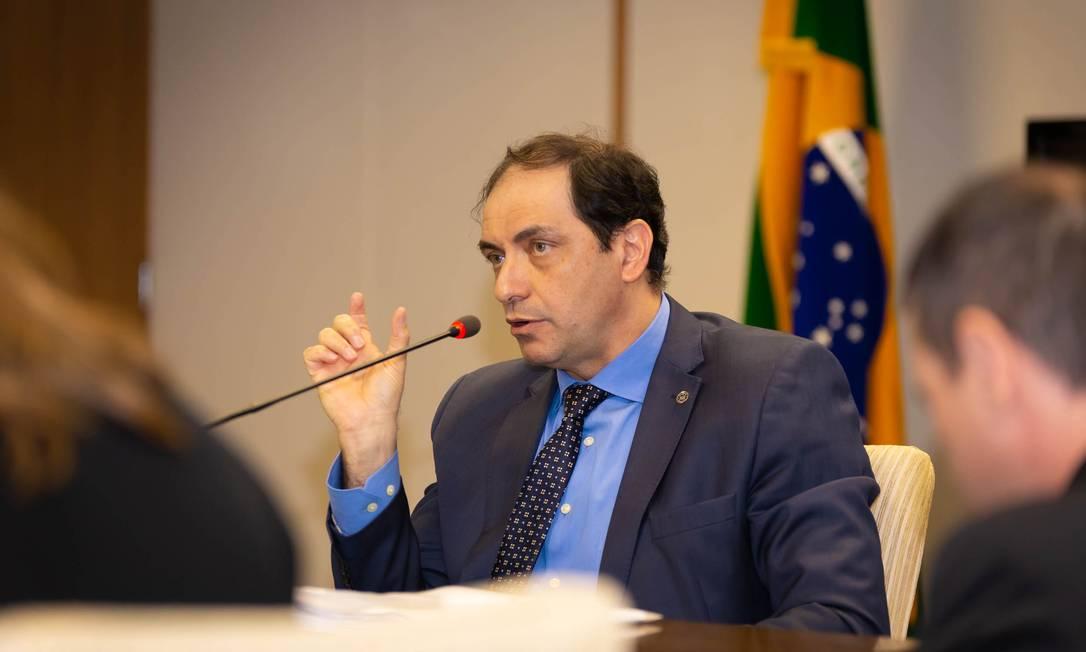 Secretário de Fazenda do Ministério da Economia, Waldery Rodrigues, durante entrevista Foto: Divulgação / Ministério da Economia