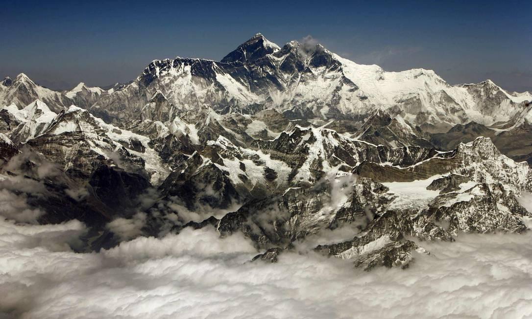 Montanhas geladas do Tibete guardam vírus de 15 mil anos Foto: Desmond Boylan/Reuters / Desmond Boylan/Reuters