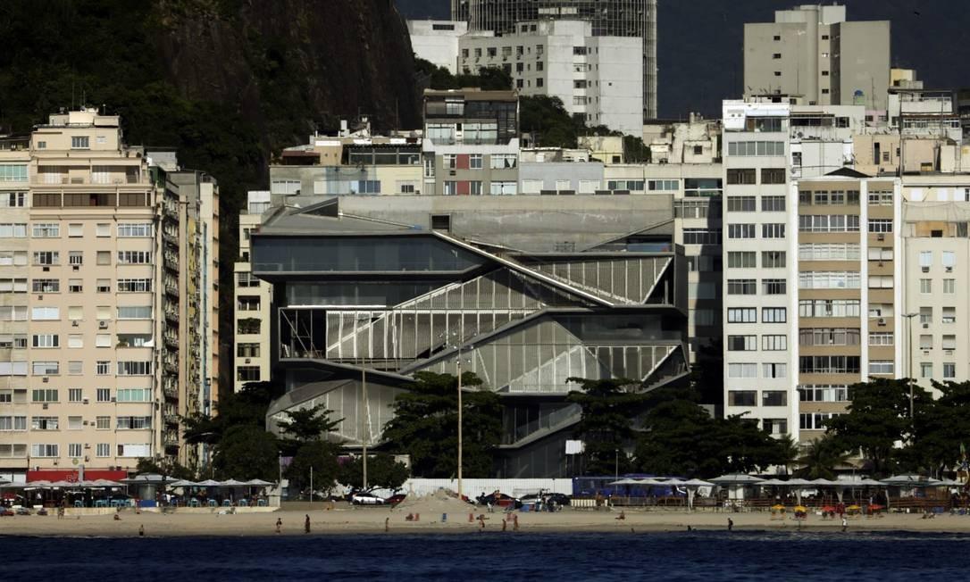 O MIS, na orla de Copacabana: licitação no valor de R$ 20,9 milhões Foto: Antonio Scorza / Agência O Globo
