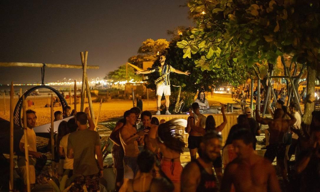 Clássico Beach Club, Postinho, Barra Foto: Agência O Globo/Gabriel Monteiro