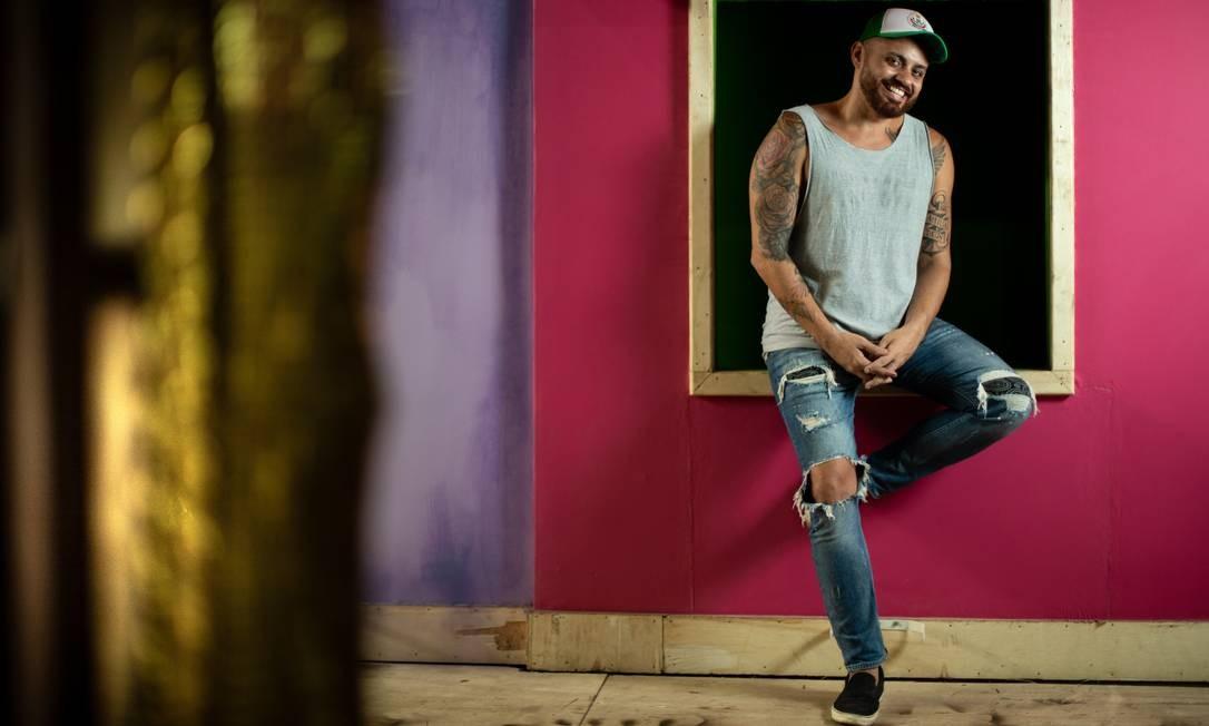 Leandro Vieira: 'Não faço brincadeira de nada, sou respeitoso' Foto: Brenno Carvalho / Agência O Globo