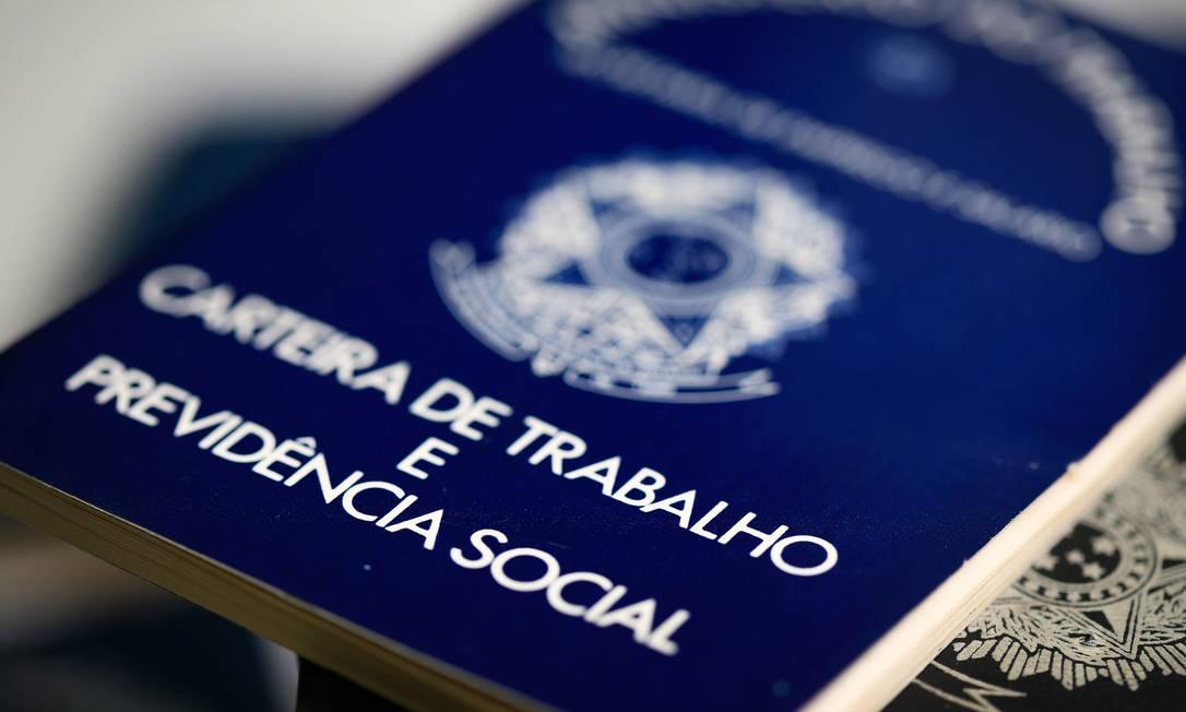 Estudo do Dieese mostra que contratos intermitentes pagam menos que um salário mínimo Foto: Roberto Moreyra / Agência O Globo