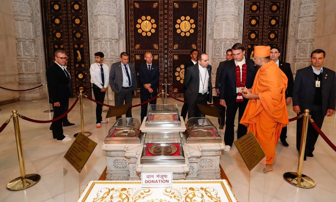 Compromissos oficiais do presidente começam amanhã, quando encontra o premier Narendra Modi Foto: Alan Santos / Presidência da República