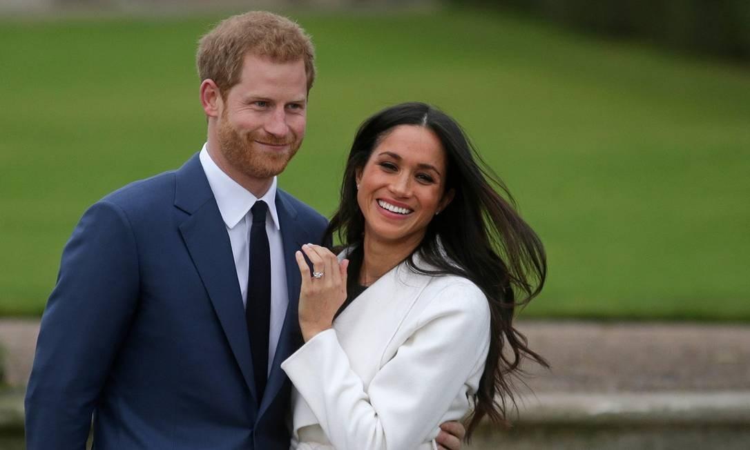 Príncipe Harry e Meghan Markle anunciaram a intenção de passarem mais tempo na América do Norte Foto: DANIEL LEAL-OLIVAS / AFP